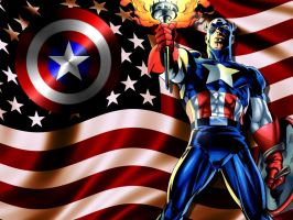 Captain America: Guiding Light by Superman8193