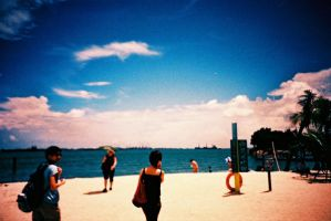 The Beach by dyspeptic