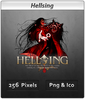 Hellsing v2 - Anime Icon by DevilL-Dante