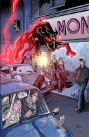 Dresden Files Cover Issue 3 by th3rdworld