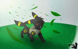Sora The Umbreon | Birthday Gift by Skaterblog