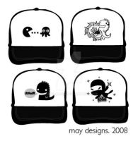 Truckie hat designs by mayo-naise
