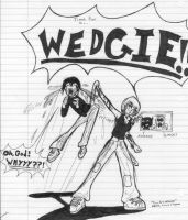 Internal Conflicts:  WEDGIE by Drof