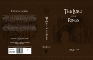 Lord of the Rings Book Cover by nfcwave