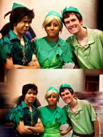 Peter Pan's and Tinker Bell by DuysPhotoShoots