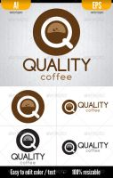 Quality Coffee - Logo Template by doghead
