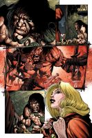 Conan: Kiss of the Undead 3 by MarkHRoberts