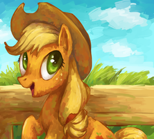 Applejack by Frozenspots