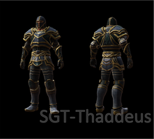 Kingdoms of Amalur (Armour Collection) Azurite by SGT-Thaddeus