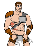 Quick Sketch - Barbarian by cats-creative