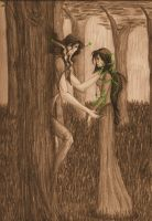 The Wood Nymph by SwitchValentine