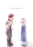 Won't Let You Slip [Hans x Elsa] by wintrydrop