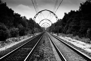 On the rails by Z-GrimV