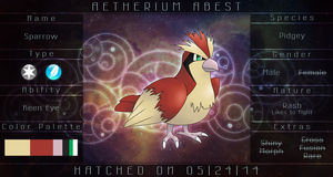 PKMNation Sparrow by Aetherium-Aeon
