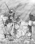 The Battle of the Plains of Sargos by Shabazik