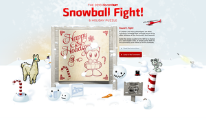 2010 Snowball Fight Page by TheRyanFord