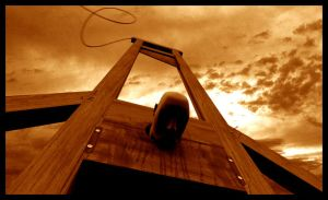 GUILLOTINE EXECUTION by marioans