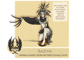 Valea Regilor: Raziya by Little-Imp-Rin