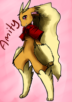 Lopunny Amity by StarLynxWish