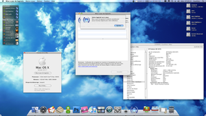 Mac 10.5.7 on my new config' by Gotier