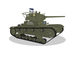 Rumble found T-26 by DolphinFox