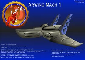 Arwing Mach 1 by Barsto