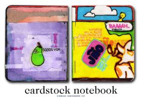 cardstock notebook by serealis