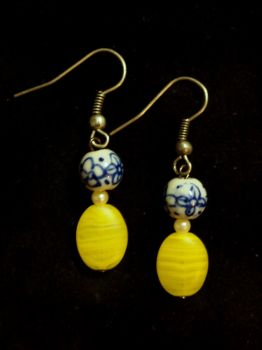 Lemon Drop Earrings by TheJugulateJeweler