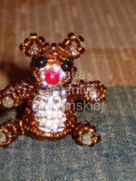 Beads - Bear by jolabrodnica