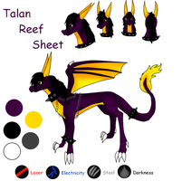 Talan Reef Sheet by ShadowXEyenoom