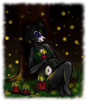 Little Candles by Shironiki