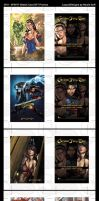 2011 5FINITY Grimm Fairy Tales Promo Card Designs by NGoff
