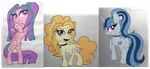 The Dazzlings,Pony Form by XRainbowIceCreamX