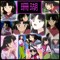 Inuyasha - Sango Part1 Collage by Strawberry-of-Love