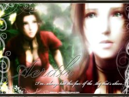 Aerith_fear from high by areemus
