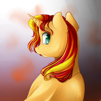 Sunset Shimmuuuuurrrrr by Chiweee