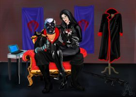 Destro and the Baroness -Sweet conspiracy by Lux3777