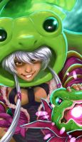 Heroes of Newerth - Holly Polly Priestess by MichaelMayne