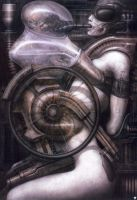 H. R. Giger XXXI by CamillOnline