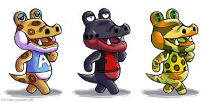 Gators Gonna Gait by Red-Flare