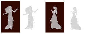 Ghost Women png by mysticmorning