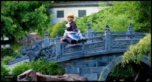 Parsee on bridge by nuramoon