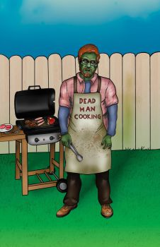 Dead Man Cooking by Psychoead