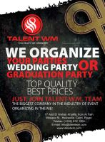Talent WM Flayer by creations-ad