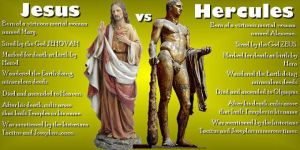 Jesus Vs Hercules by lisa-im-laerm