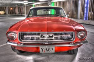 Ford Mustang  HDR by evrengunturkun