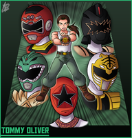 Bro Month 22 - Tommy Oliver by Ian-the-Hedgehog