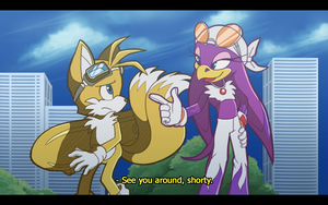 Sonic Riders fake screencap by mechanical-resonance