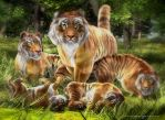 Richard Parker's Pride by JoePingleton