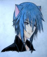 - Neko Ikuto - by antiquec0pcake